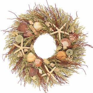 delray beach 22 wreath - Beach Christmas Wreath
