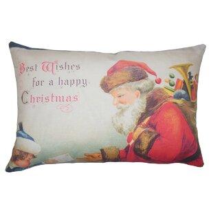 Felix Holiday Floor Over Stuffed Pillow
