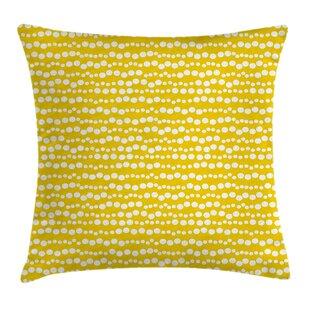 Doodle Circles Pillow Cover
