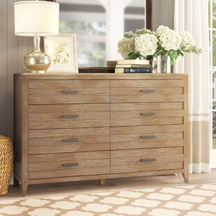 Fedna 8 Drawer Double Dresser