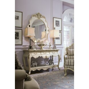 Lavelle Console Table and Mirror Set by Michael Amini