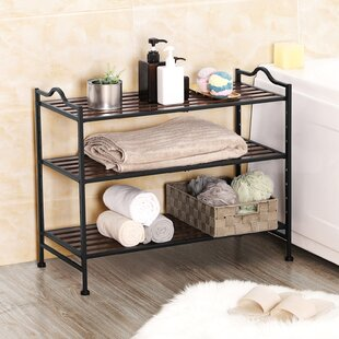 10 Pair Stackable Shoe Rack By Marlow Home Co.