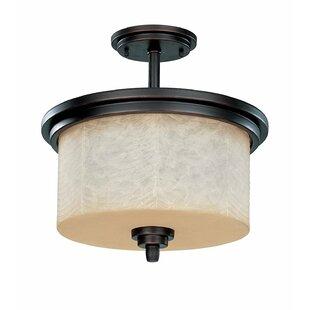 Darby Home Co Peh 3-Light Semi Flush Mount