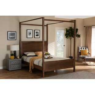 Herrington Low Profile Canopy Platform Bed by Foundry Select