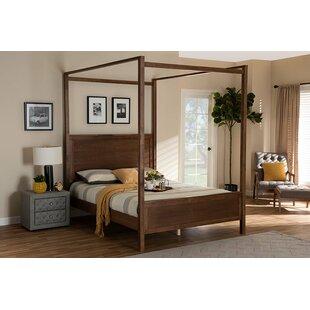 Herrington Low Profile Canopy Platform Bed