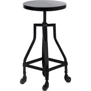 Zentique Adjustable Height Bar Stool