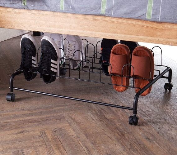 Burroughs 12 Pair Underbed Shoe Storage