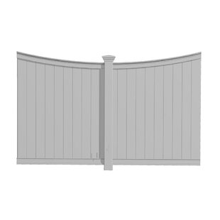 Pergola Privacy Wall by New England Arbors