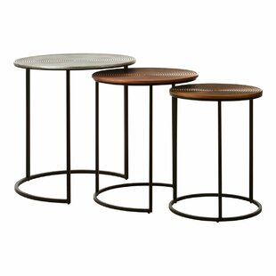 Jent 3 Piece Coffee Table Set By Bloomsbury Market