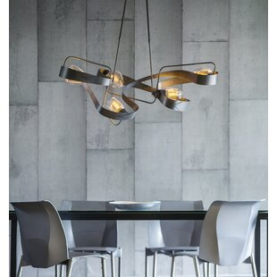 Hubbardton Forge Graffiti 5-Light Novelty Chandelier