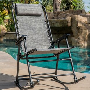 Gillum Zero Gravity Rocking Chair with Cushions