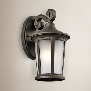 Clarington 1-Light Outdoor Wall Lantern by Darby Home Co