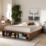 Khalid Storage Platform Bed by Foundry Select