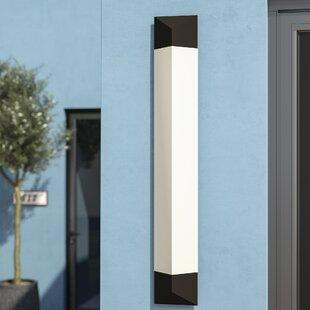1-Light LED Outdoor Flush mount by Latitu..