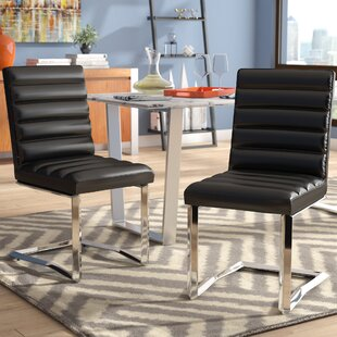 Destan Contemporary Side Chair (Set of 2)