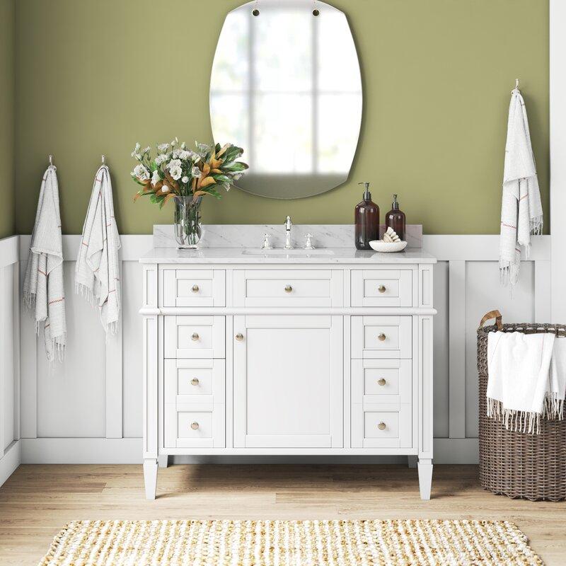 Birch Lane Lakeland 42 Single Bathroom Vanity Set Reviews Wayfair