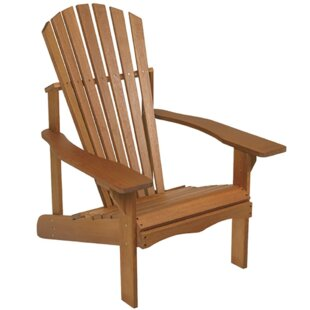 Buyers Choice Phat Tommy Lodge Wood Adirondack Chair