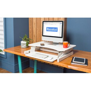 Rocelco Adr Standing Desk Converter by Symple Stuff