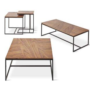Gus* Modern Tobias 4 Piece Coffee Table Set