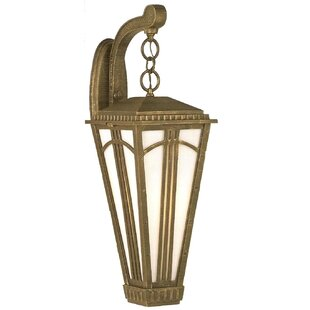 Petrey 1-Light Outdoor Wall Lantern