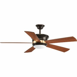 54 seaton 5 blade led ceiling fan with remote for sale hot aloadofball Gallery