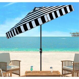 Seaport 9' Drape Umbrella by Beachcrest Home