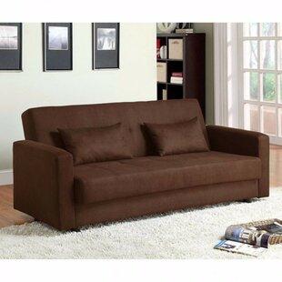 Red Barrel Studio Garrow Microfiber Convertible Sofa