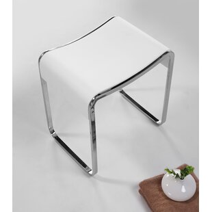 Moorman Bathroom Accent Stool by Orren Ellis