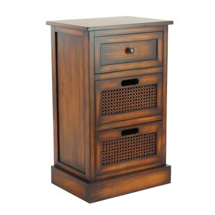 Find the perfect Bryce 3 Drawer Nightstand by Bay Isle Home
