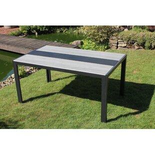 Ludgarda Aluminium Dining Table By Kampen Living