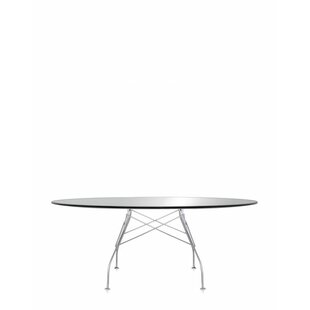 Kartell Glossy Oval Table