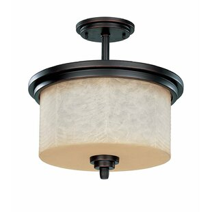 Peh 3-Light Semi Flush Mount b..