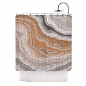 U0027Burntu0027 Shower Curtain. U0027