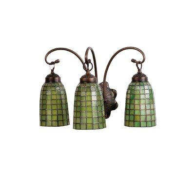 Meyda Tiffany Terra Verde 3-Light Vanity Light