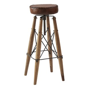 Katrina Height Adjustable Bar Stool By Williston Forge