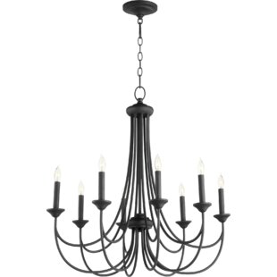 Three Posts Hewlett 8-Light Candle Style Chandelier