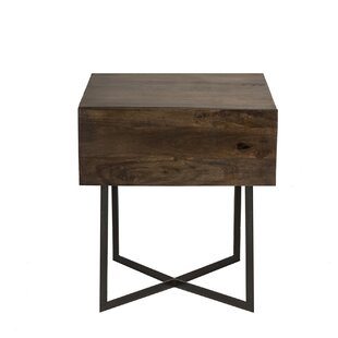 Brayden Studio Strausbaugh End Table with Storage