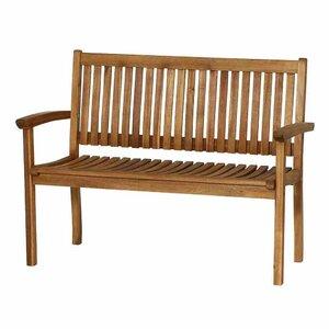 2-Sitzer Gartenbank Paleros aus Massivholz von Siena Garden