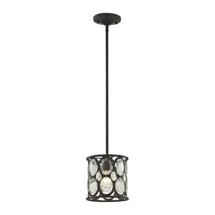 House of Hampton Amara 1-Light Drum Pendant