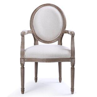 Agda Classic Elegant Upholstered Dining C..