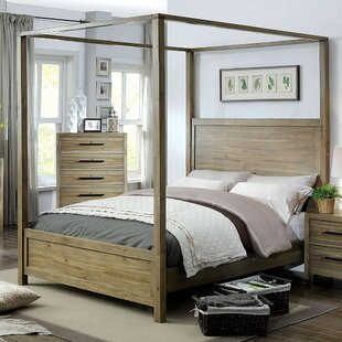 Bargain Glynda Canopy Bed by Three Posts Reviews (2019) & Buyer's Guide