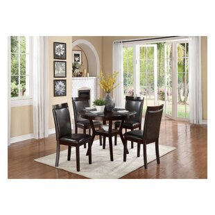 Solari Transitional Dinette 5 Piece Solid..