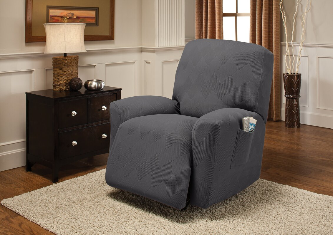 recliner patterns baby slipcover bedroom slipcovers gray suitable dark decor for inspiration