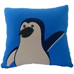 Penguin Mate Throw Pillow