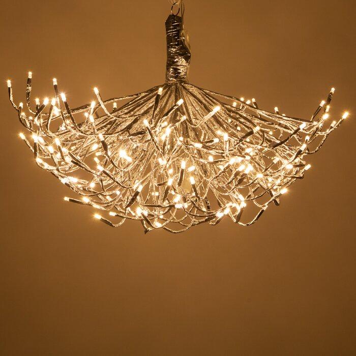 LED Twinkle Light Indoor/Outdoor Starburst Lighted Branch