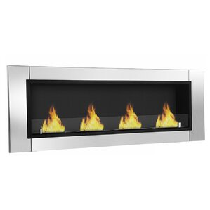 Wraith Ventless Wall Mount Bio-Ethanol Fireplace by Moda Flame