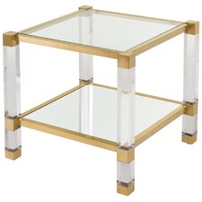 Marcia Square Two Tiers End Table by Willa Arlo Interiors