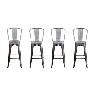 Williston Forge Kamp 30 Bar Stool Reviews Wayfair