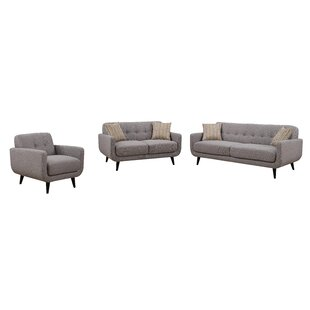 Online Reviews Tifton 3 Piece Living Room Set by Ivy Bronx Reviews (2019) & Buyer's Guide