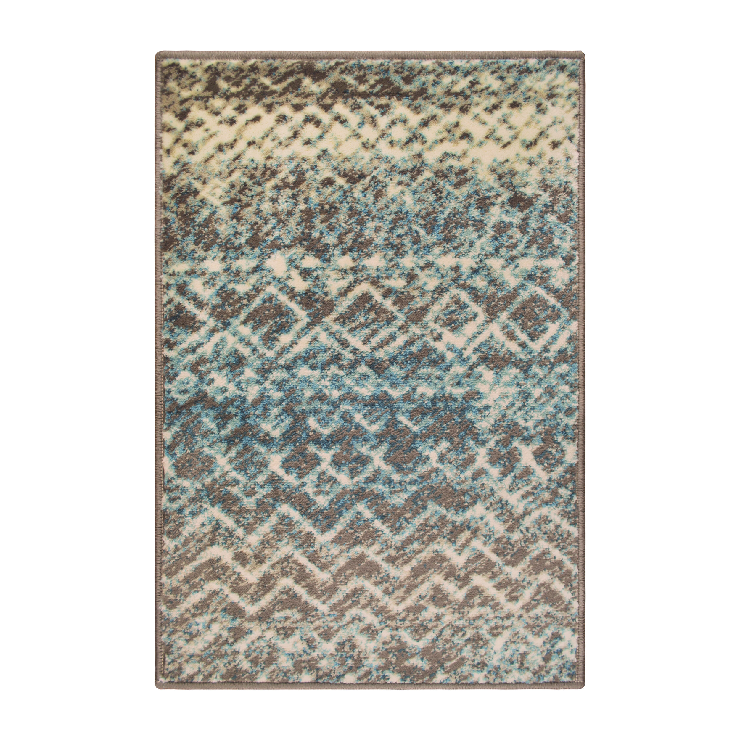 World Menagerie Lafave Abstract Taupe Ivory Area Rug Reviews Wayfair